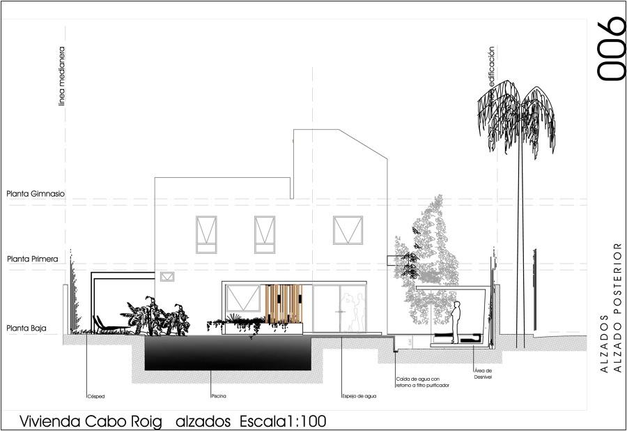 Dise o vivienda unifamiliar aislada ideas construcci n casas for Diseno vivienda online