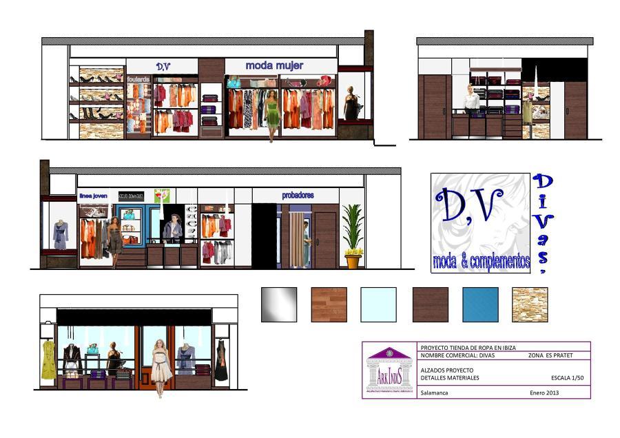 Foto alzados proyecto de arkindis arkitectura - Interiorismo y diseno ...