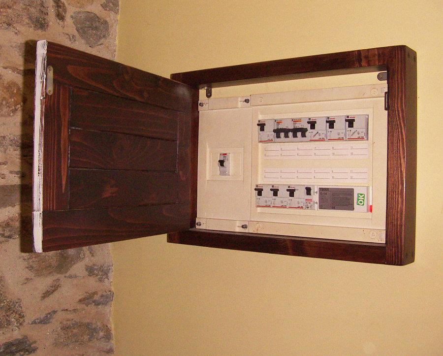 C mo colocar una tapa decorativa en el cuadro el ctrico ideas reformas viviendas - Tapas decorativas para contadores luz ...