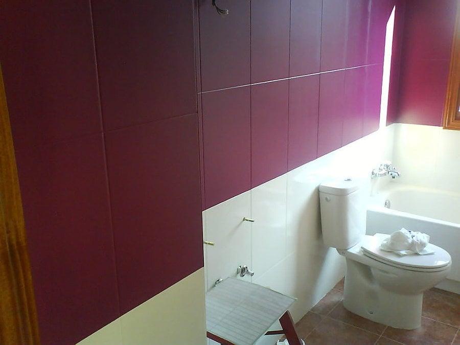 C mo pintar baldosas y azulejos ideas reformas viviendas - Pintar azulejos bano ideas ...