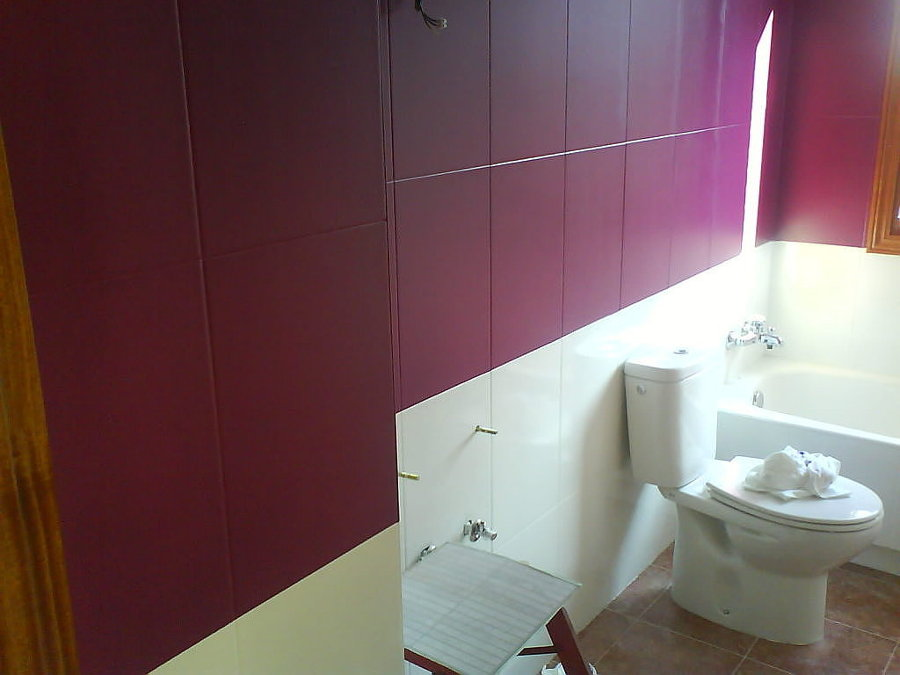C mo pintar baldosas y azulejos ideas reformas viviendas - Pintura baldosas bano ...