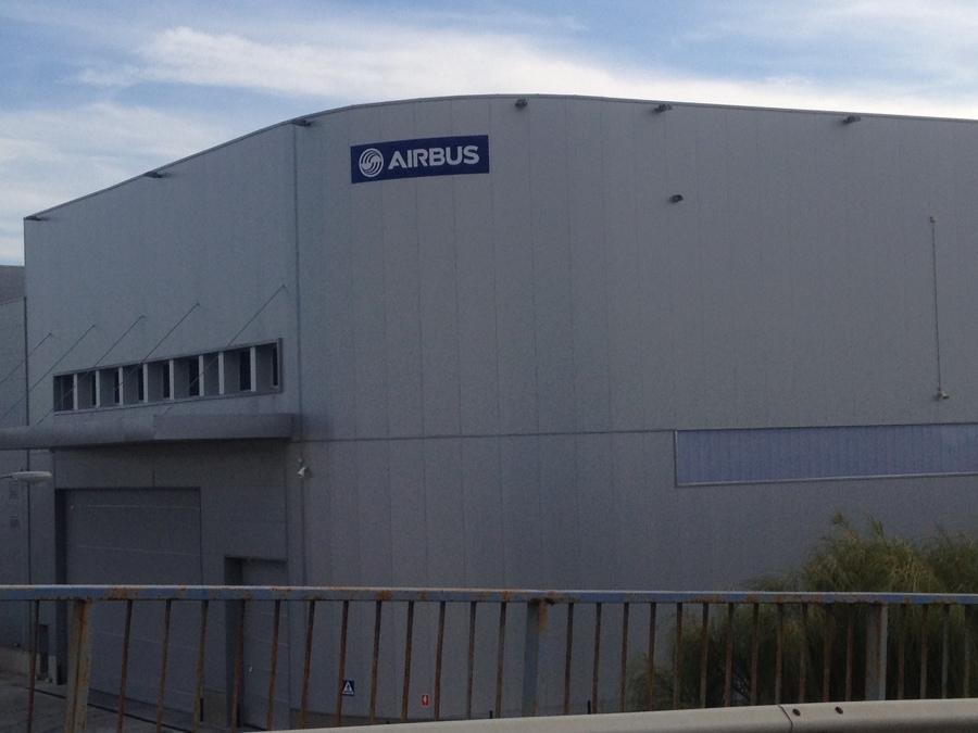 Ampliación A330/340 CL en la Factoría de Airbus en Puerto Real