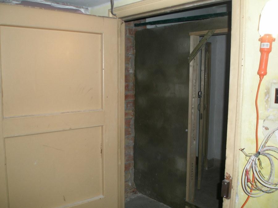 ampliación de recibidor y entrada al piso