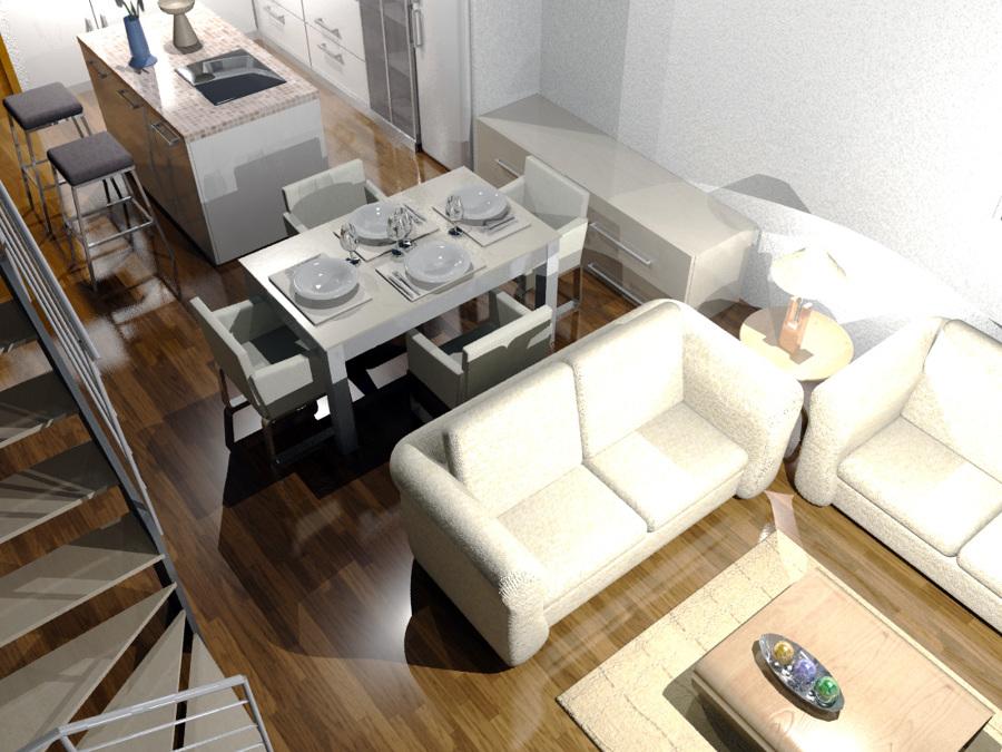 Foto ampliaci n de vivienda unifamiliar entre medianeras - Vivienda entre medianeras ...