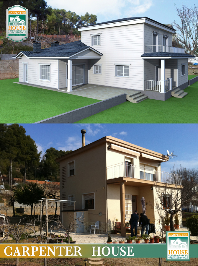 Ampliación vivienda en Cervelló (Barcelona)