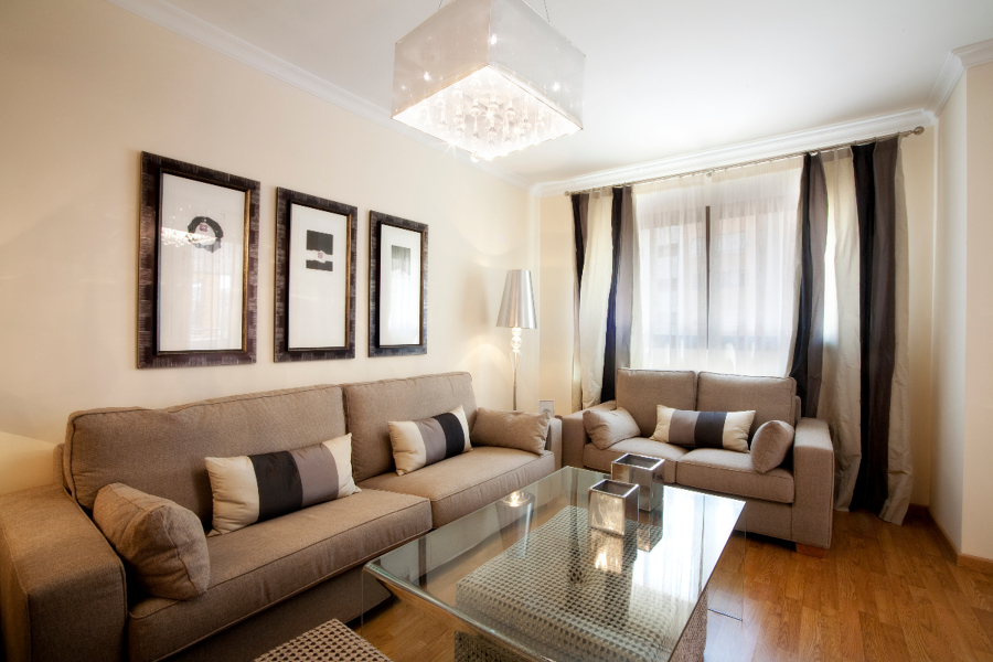Amueblamiento integral pisos grupo prasa l 39 estilo - Estilos de interiorismo ...