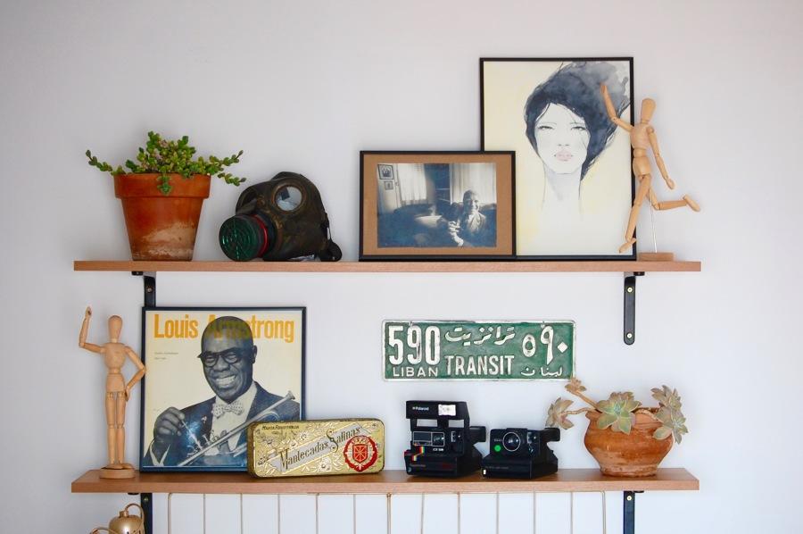 Añade objetos personales a la decoración