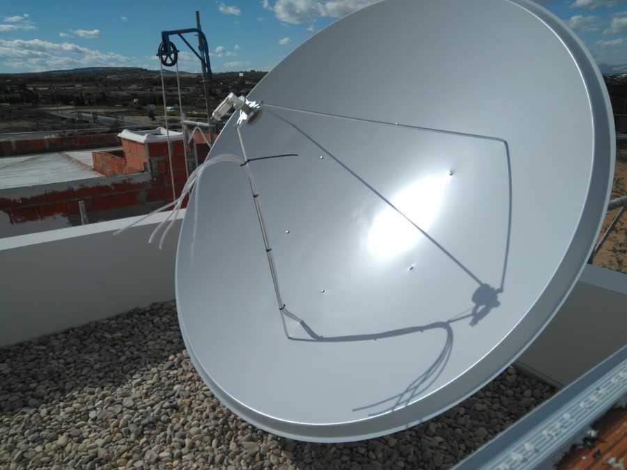 Antena de 1.90 para recepción de canales Ingleses