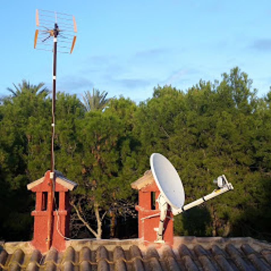 Antena para internet rural Viasat