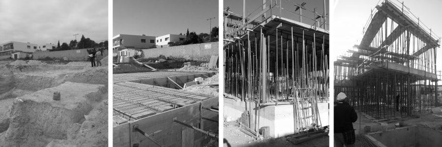 Antes de la construcción