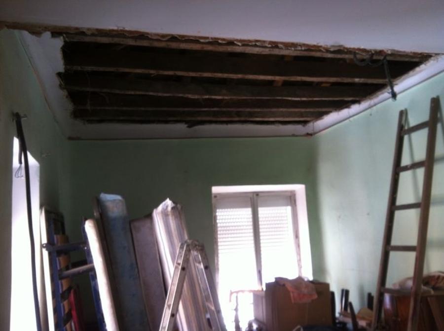 antes de obra techos de caña
