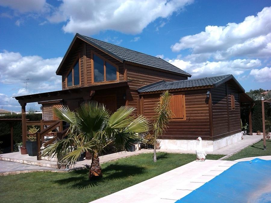 Foto antes del mantenimiento de la casa de madera de mccm - La casa de madera valencia ...
