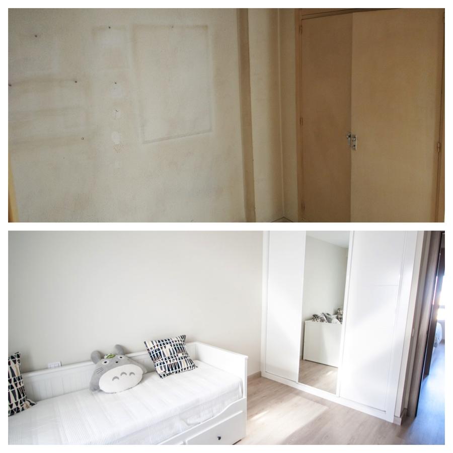 Antes/Después dormitorio