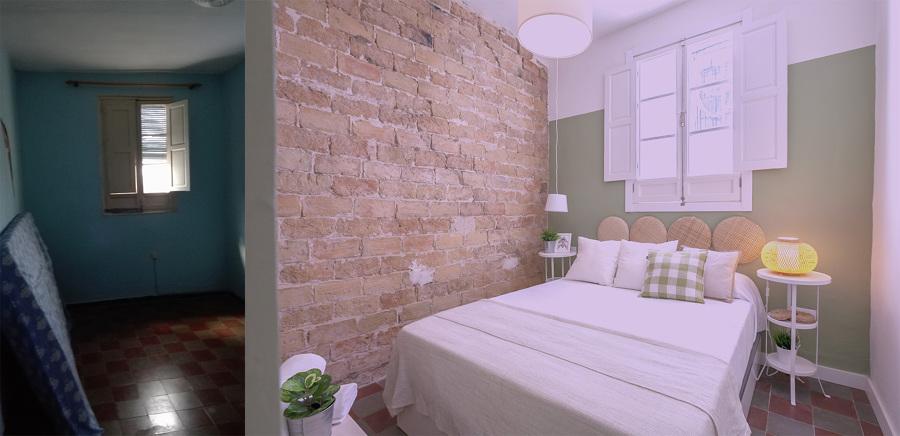 Antes y después de suite