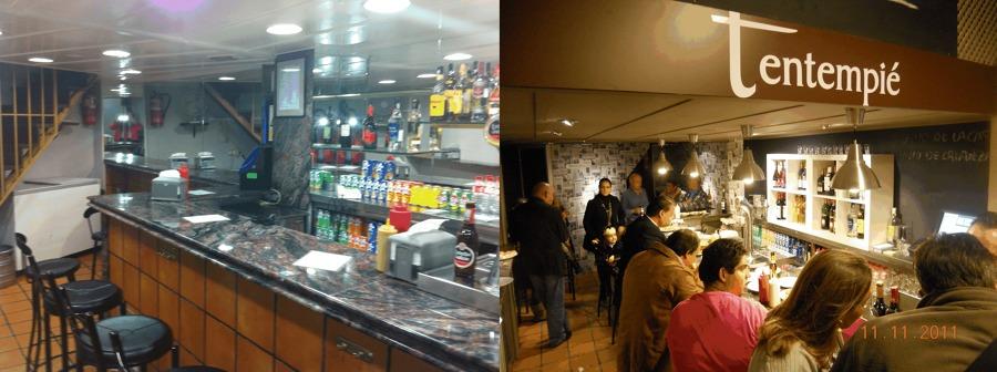Antes y despu s de la reforma de un bar ideas decoradores - Decoradores de bares ...