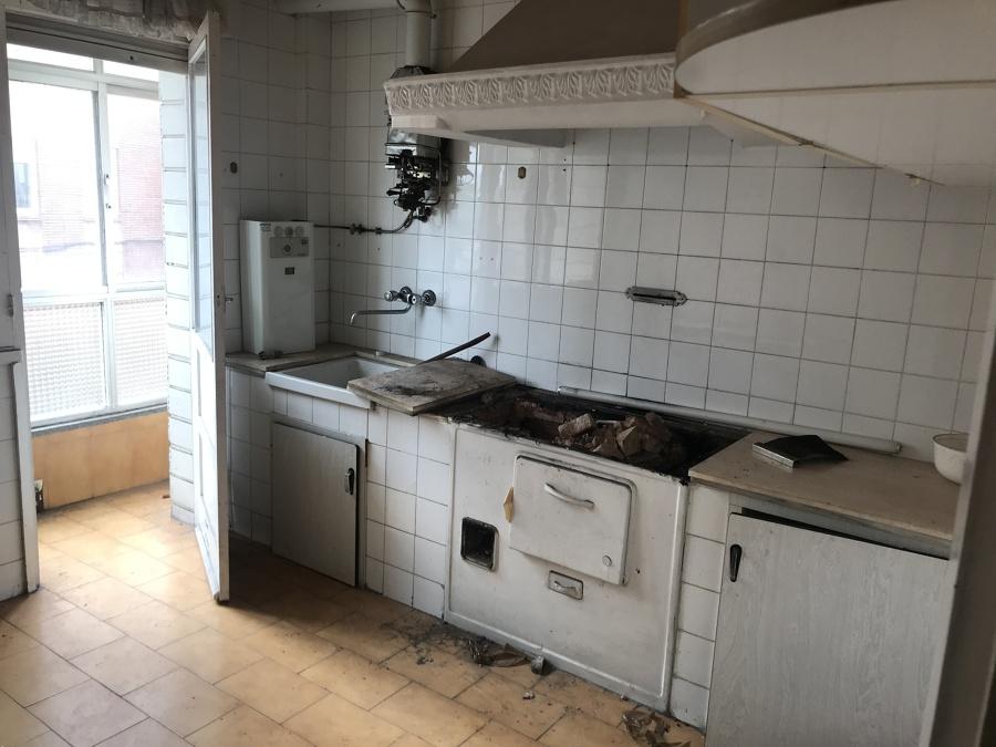 Antigua cocina de carbón