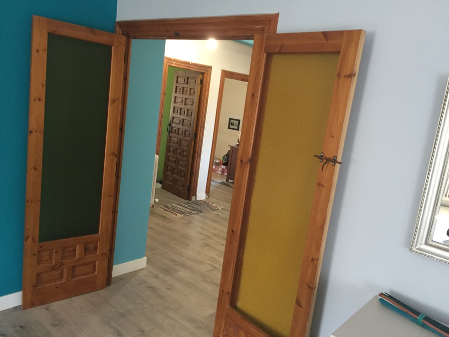 Sistituir puertas plafonadas ideas carpinteros for Puertas antiguas dobles