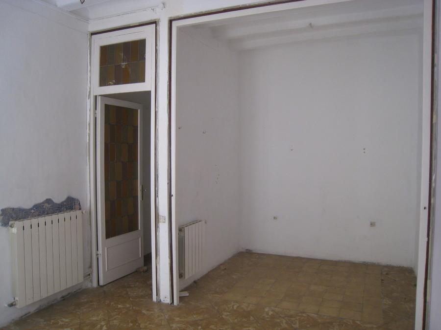 antiguo dormitorio en el open space actual