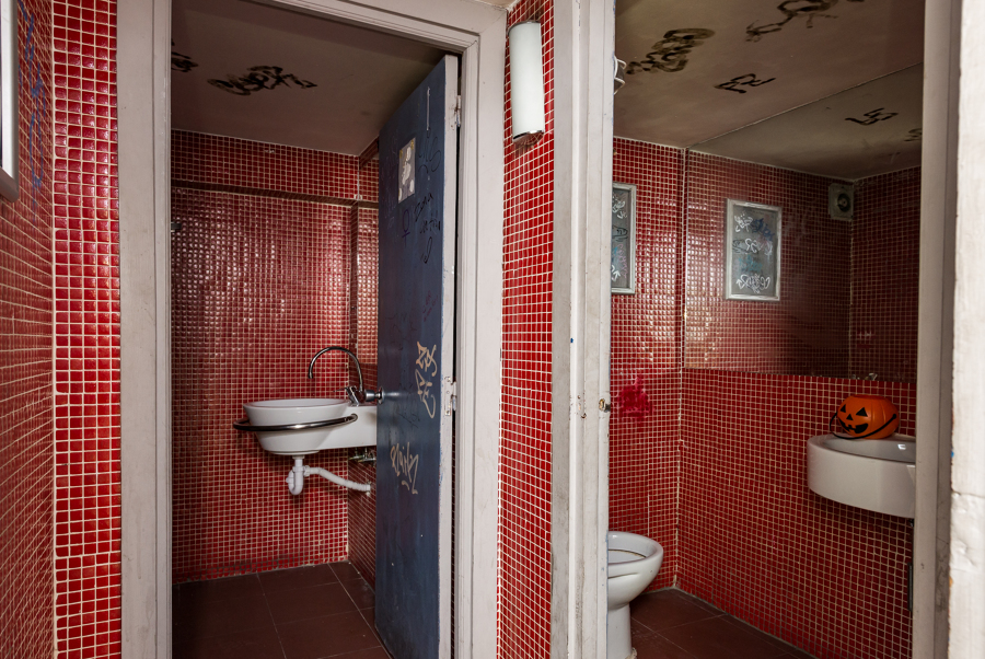Antiguos baños
