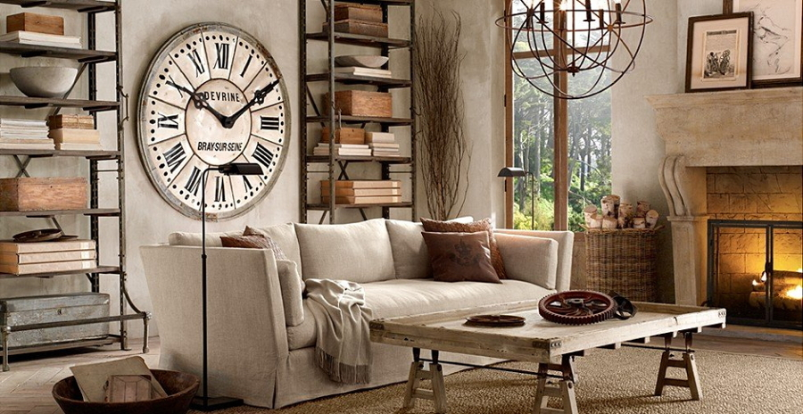 Relojes diferentes para un nuevo look a tu hogar ideas - Relojes pared grandes ...