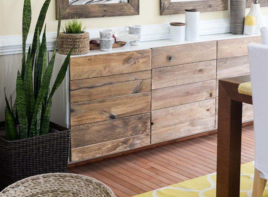 9 ideas creativas para transformar tus muebles de ikea - Transformar un mueble ...