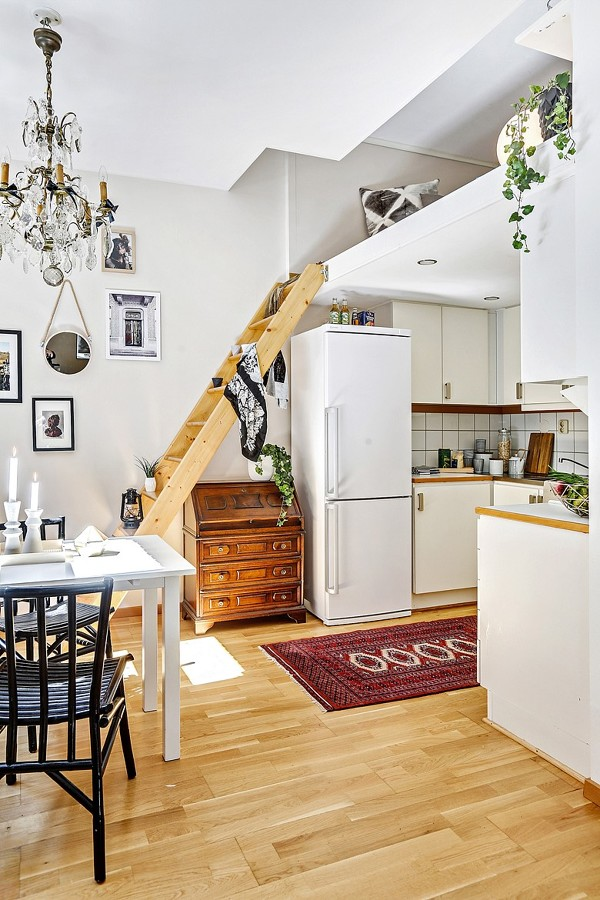 Apartamento con altillo