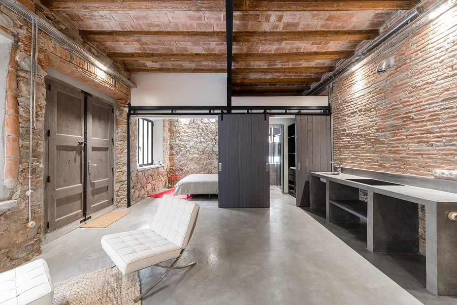 Apartamento estilo industrial