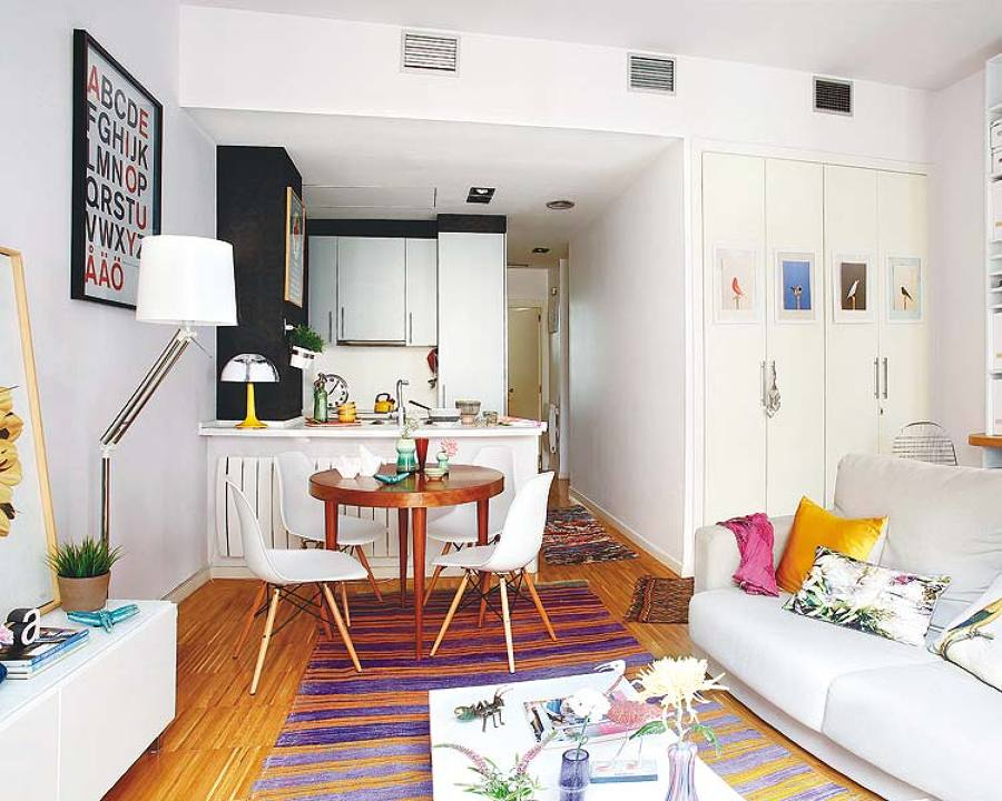 C mo decorar un piso de 30 metros cuadrados ideas for Como decorar un apartamento de 45 metros