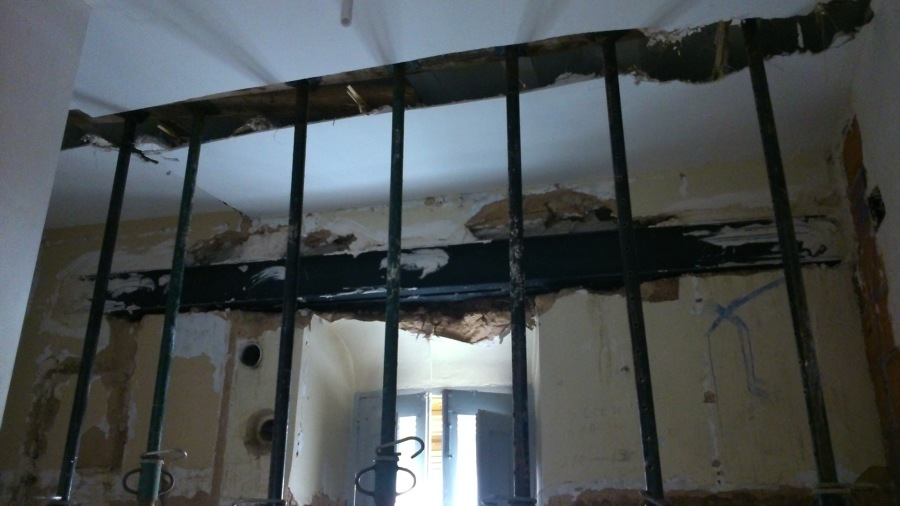 Apertura de huecos en fachada - Proceso