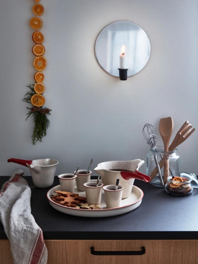 Aplique para vela VÄRMER colección IKEA 2019