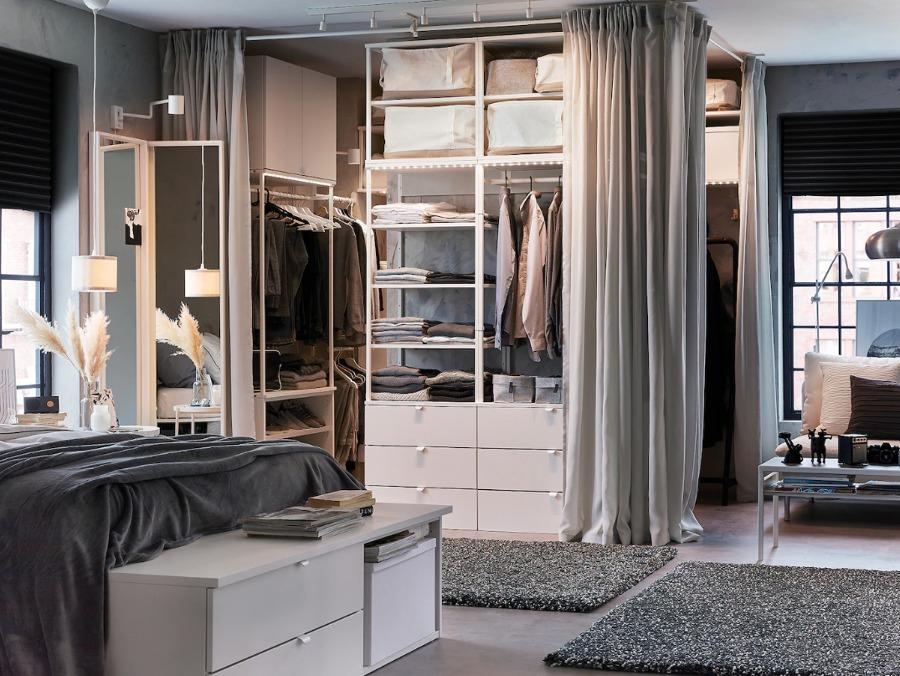 Aprende a ordenar un armario tipo vestidor abierto
