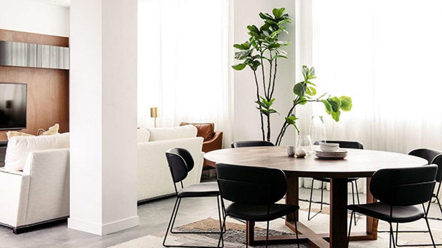 Como disimular una columna en el salon top beautiful saln - Como decorar una columna en el salon ...