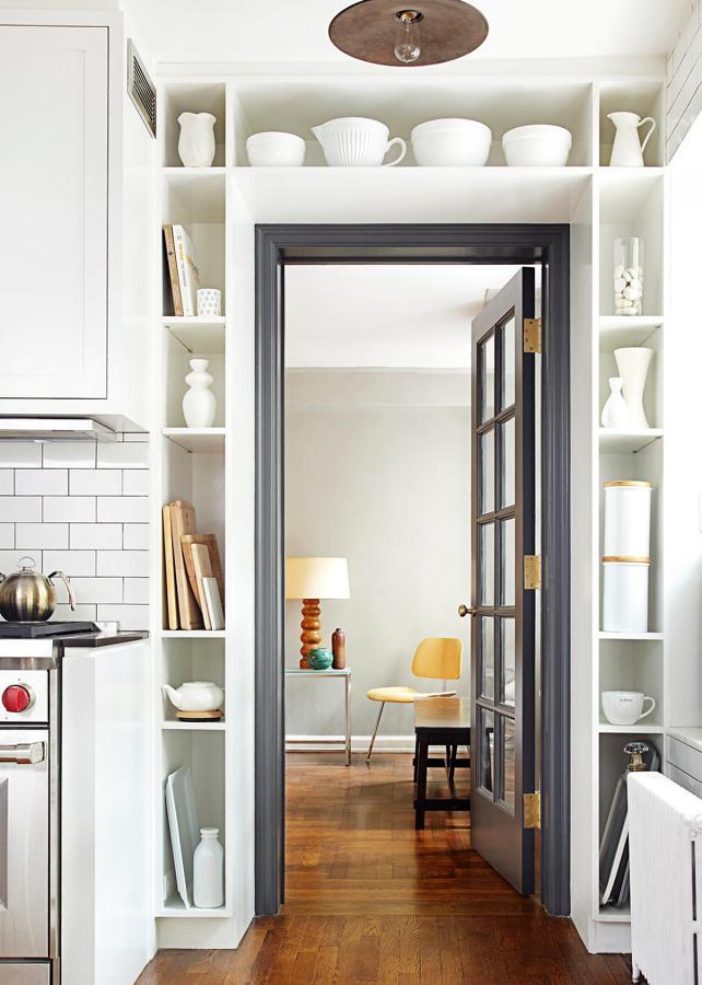 aprovechar espacio en las puertas
