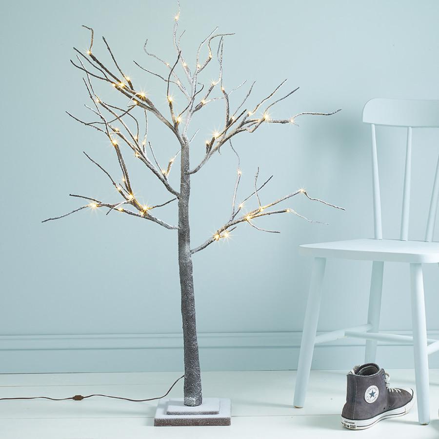 Crea un rbol de navidad nico con ramas secas ideas - Arbol de navidad hecho de luces ...
