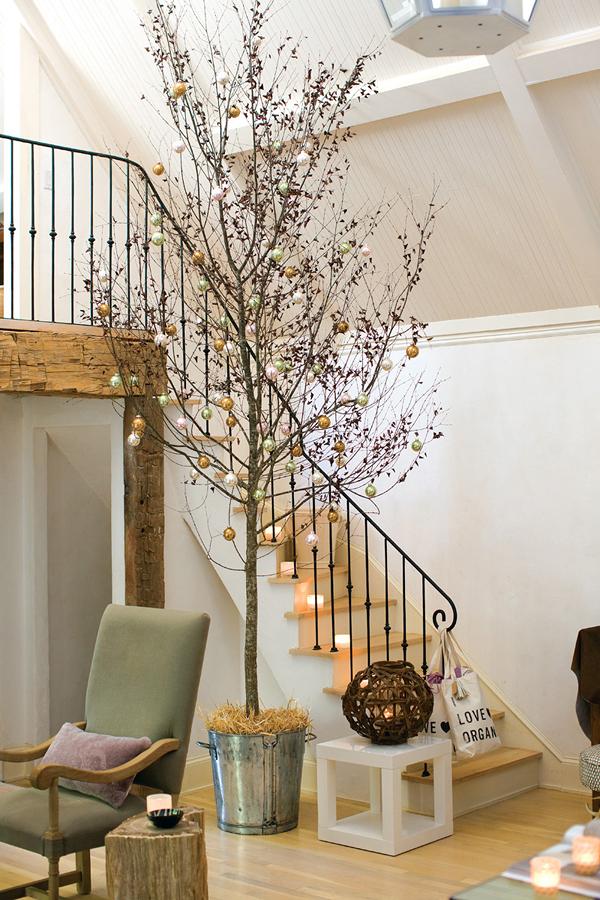 Crea un rbol de navidad nico con ramas secas ideas - Arbol navidad moderno ...