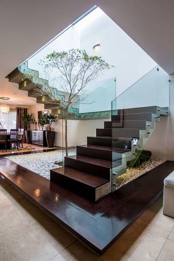 árbol en escalera