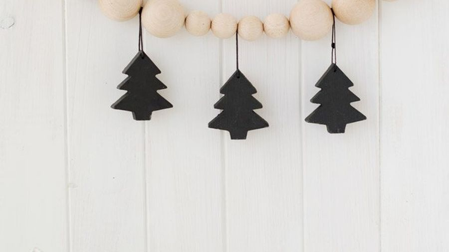 árbol Navidad negro