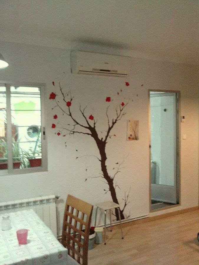 Pintura exterior e interior estucos fachadas suelos - Arboles decoracion interior ...