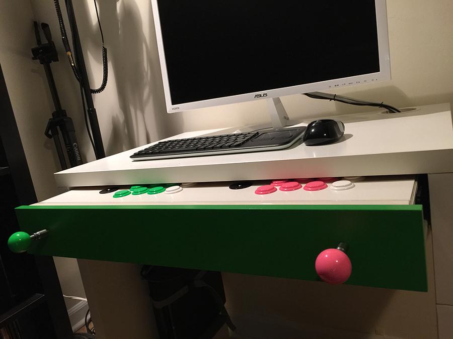 Arcade Micke escritorio