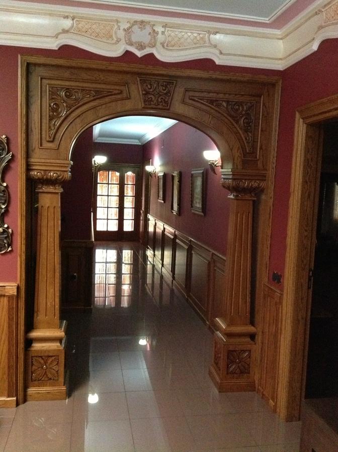 Arcos de madera de dise o ideas carpinteros for Disenos de espejos tallados en madera