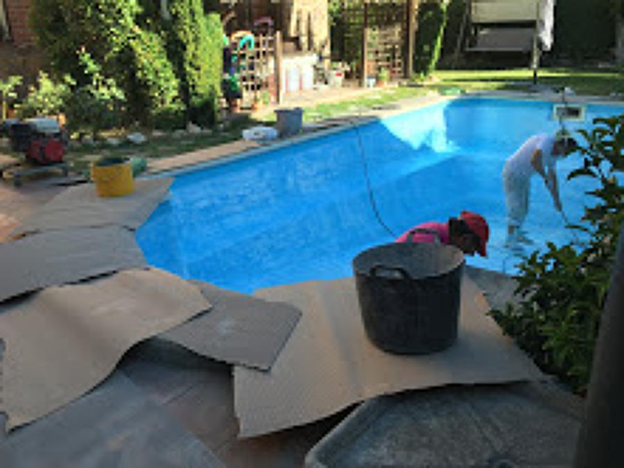 areglo de piscina poliester