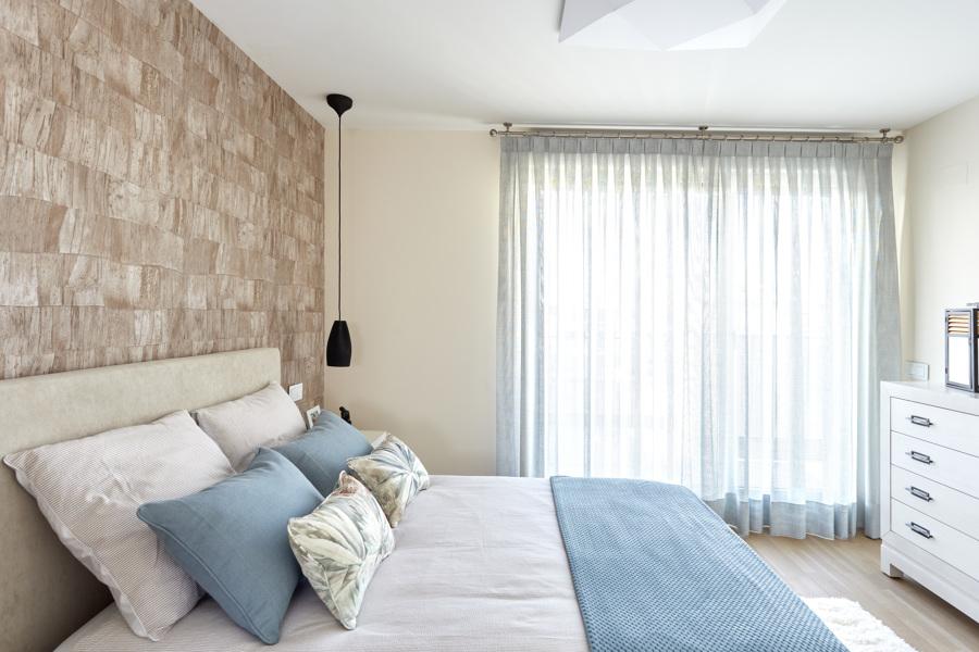 Arenas & Azules, para el dormitorio principal