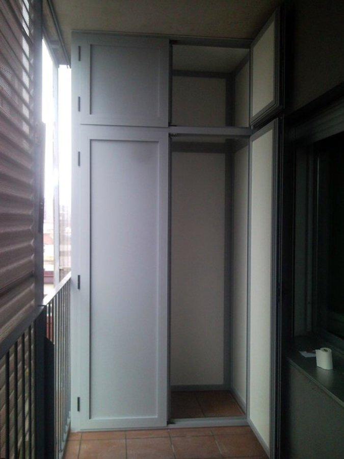 Armario en aluminio ideas carpinter a aluminio - Armario balcon ...