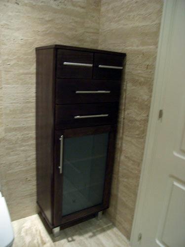 Armarios De Baño Modernos:Foto: Armario Color Wengue de Muebles De Baño Jara #282221