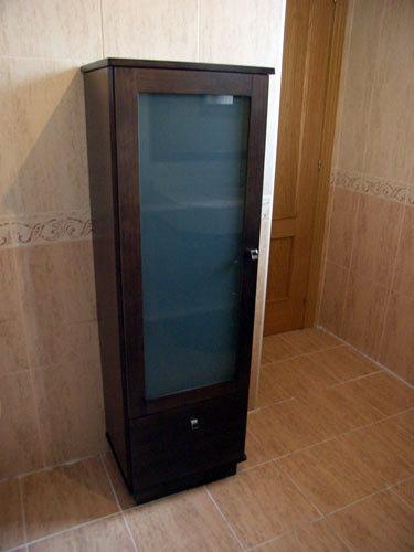 Armarios De Baño Wengue:Foto: Armario Columna Color Wengue de Muebles De Baño Jara #282224
