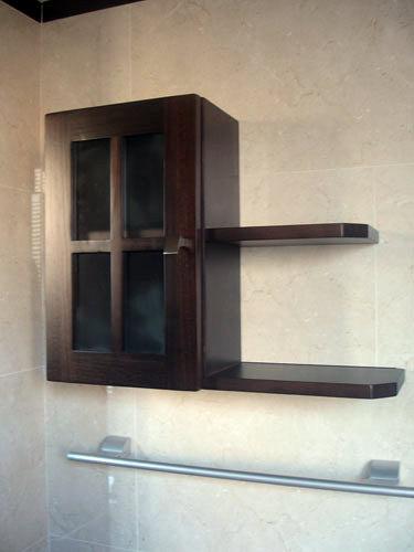 Armarios de baño de colgar en ikea : Foto armario de colgar con baldas muebles ba?o jara