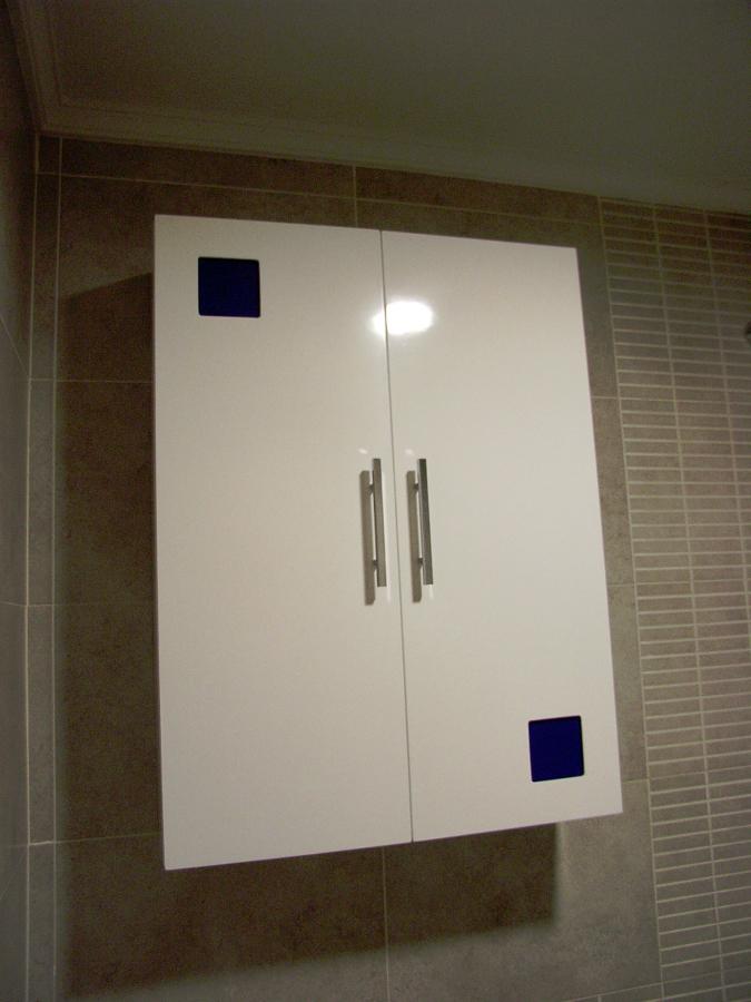 Foto armario de colgar con cristalitos de muebles de ba o jara 282206 habitissimo - Muebles de bano para colgar ...