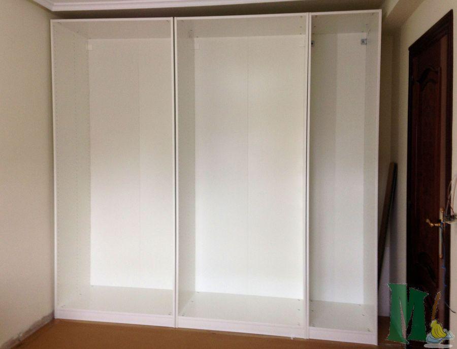 Montaje y adaptacion muebles de ikea en gijon ideas for Puertas armarios ikea