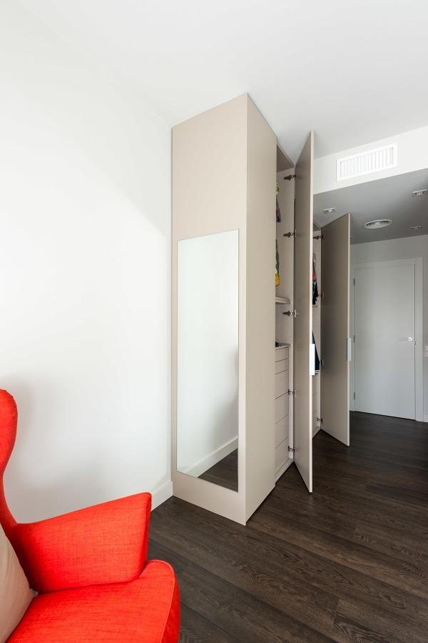 Armario dormitorio - Reforma calle Moscou | Standal