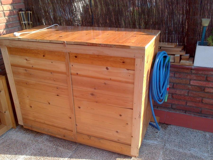 Interiorisme low cost ideas manitas - Armario lavadora exterior ...